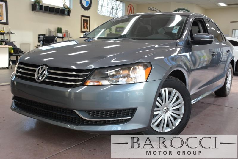 2015 Volkswagen Passat S PZEV 4dr Sedan 5M Automatic Gray Black Beautiful 1-owner Passat on spe