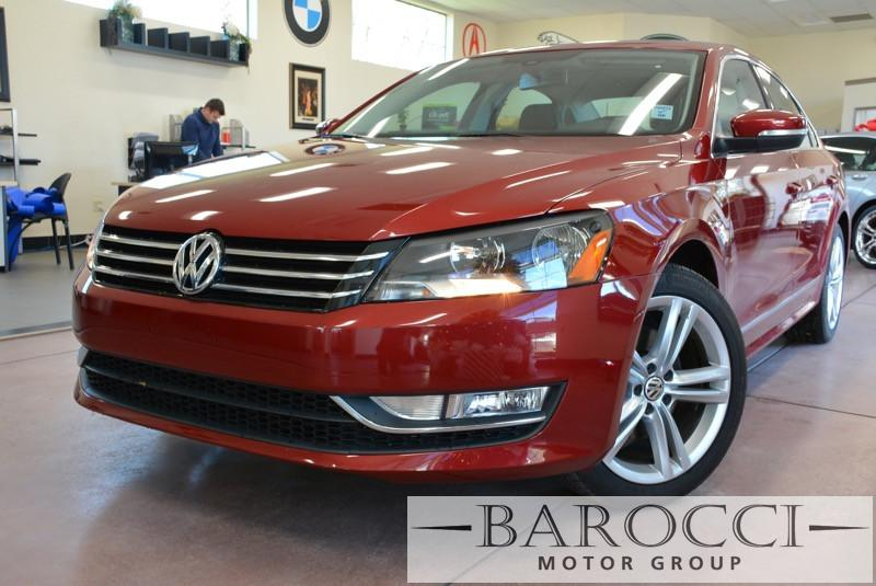 2015 Volkswagen Passat SE PZEV 4dr Sedan 6A 6 Speed Auto Red Black Beautiful Passat Loaded with