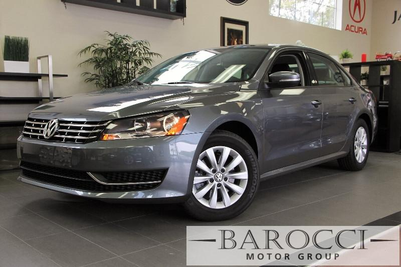 2015 Volkswagen Passat S PZEV 4dr Sedan 6A 6 Speed Auto Gray ABS 4-Wheel Air Conditioning Allo