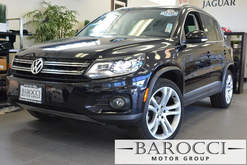 2013 Volkswagen Tiguan S 4dr SUV 6A 6 Speed Auto Black Black Beautiful Tiguan SE comes loaded w