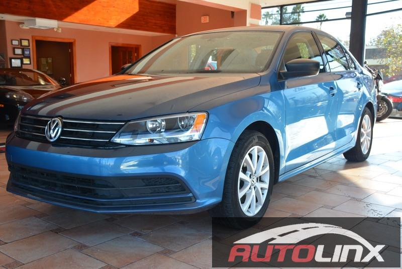 2015 Volkswagen Jetta 18T SE wPZEV Automatic 6-Speed Blue Black Black Turbocharged Move qui