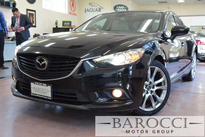 2014 Mazda MAZDA6 i Grand Touring 4dr Sedan 6 Speed Auto Black ABS Air Conditioning Alarm All