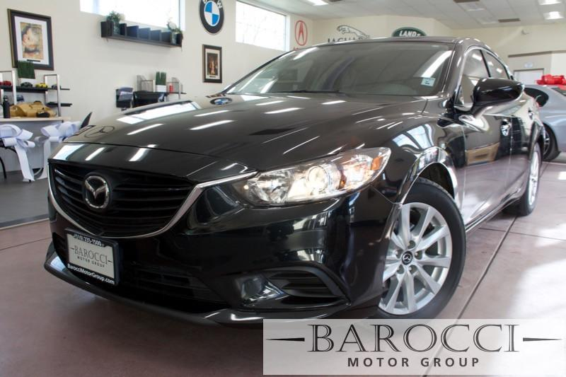2015 Mazda MAZDA6 i Sport 4dr Sedan 6A 6 Speed Auto Black Black Clean 1-owner Mazda 6 with came