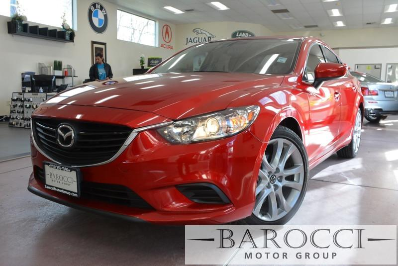 2016 Mazda MAZDA6 i Touring 4dr Sedan 6A 6 Speed Auto Red ABS Air Conditioning Alarm Alloy Wh