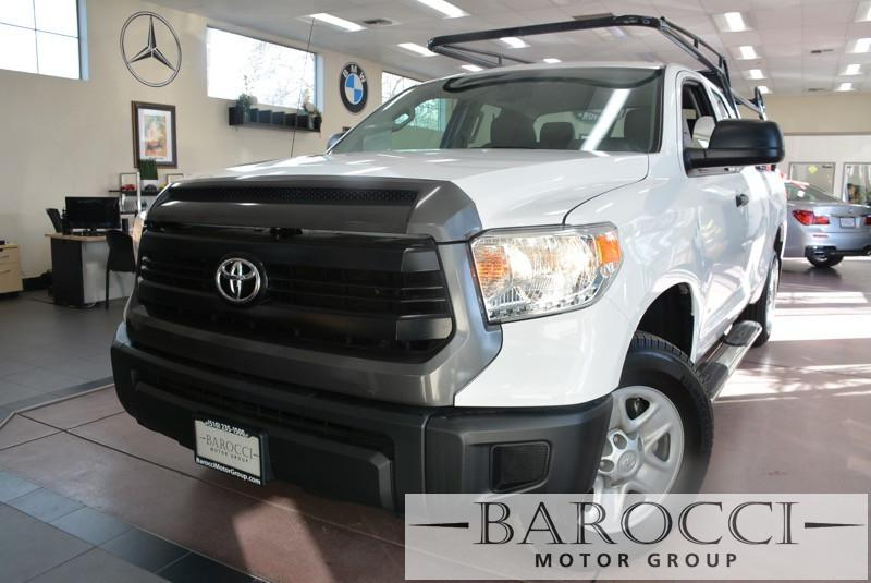 2015 Toyota Tundra SR 4x2 4dr Double Cab Picku 6 Speed Auto White Black Great truck comes with