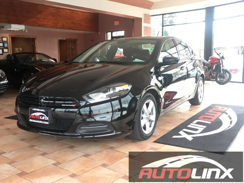 2015 Dodge Dart SXT Sedan 4D 6-Speed Automatic  Black Black Theres no substitute for a Dodge R
