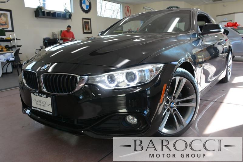 2014 BMW 4 Series 428i 2dr Coupe SULEV  8-Speed Automatic Black Black Beautiful 428i with the s