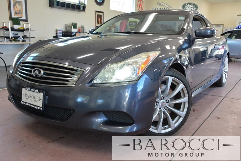 2008 Infiniti G37 Journey 2dr Coupe 5 Speed Auto Blue Gray This is a Sporty G 37 Coupe with Pre