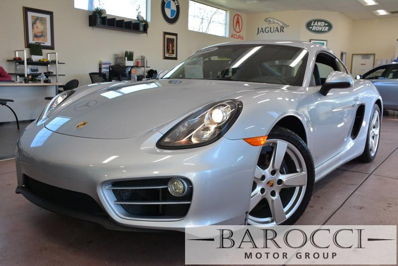 2014 Porsche Cayman Base Cayman 2dr Coupe Automatic Silver ABS Air Conditioning Alarm Alloy W