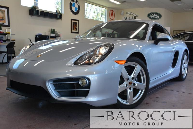 2014 Porsche Cayman Base Cayman 2dr Coupe Automatic Silver Black We are proud to offer an excel