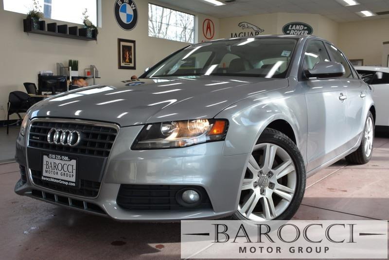 2011 Audi A4 20T quattro Premium AWD  4dr Sedan 8 Speed Auto Gray ABS Air Conditioning Alarm
