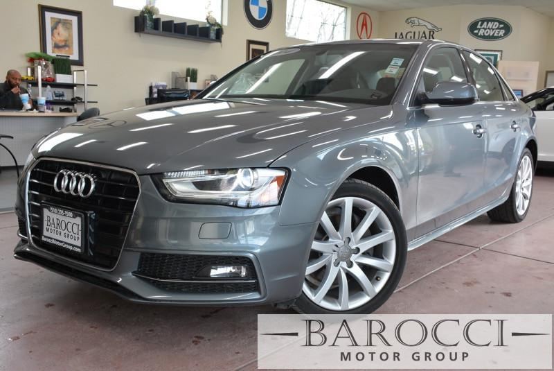 2014 Audi A4 20T Premium 4dr Sedan Automatic CVT Gray ABS 4-Wheel Air Conditioning AM FM Ster