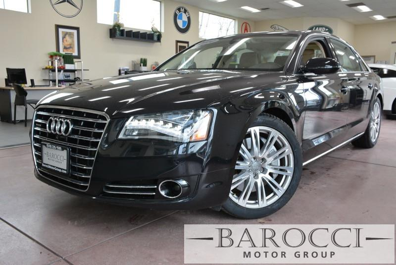 2014 Audi A8 40T quattro LWB AWD  4dr Sedan 8 Speed Auto Black Beige Child Safety Door Locks