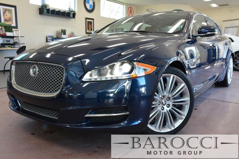 2011 Jaguar XJL Supercharged 4dr Sedan 6 Speed Auto Blue Brown This is a beautiful vehicle in g