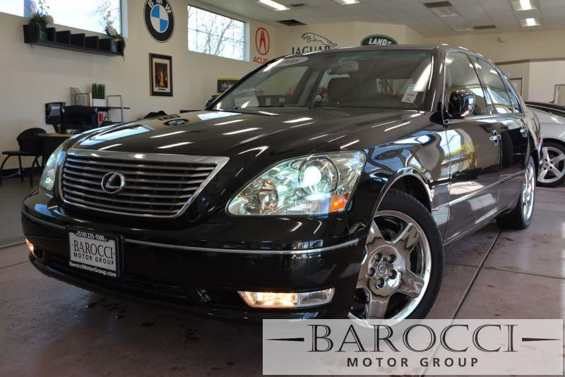 2006 Lexus LS 430 Base 4dr Sedan 6 Speed Auto Black ABS 4-Wheel Air Conditioning AM FM Stereo