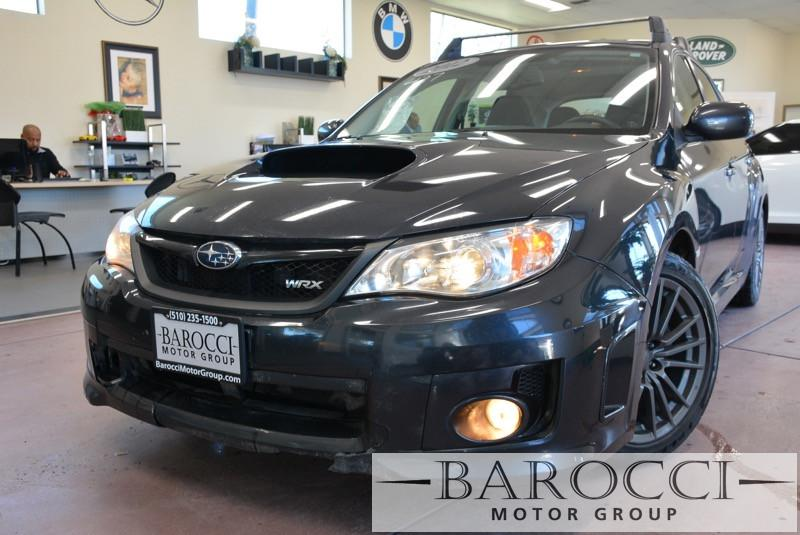 2012 Subaru Impreza WRX Premium AWD  4dr Wagon 5 Speed Man Gray 6 Speakers AM FM radio AM FM
