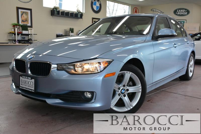 2013 BMW 3 Series 320i 4dr Sedan 8-Speed Automatic Gray 9 Speakers AM FM radio CD player Hand
