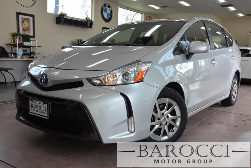 2015 Toyota Prius v Three 4dr Wagon Automatic Silver Clean car in excellent condition with rear
