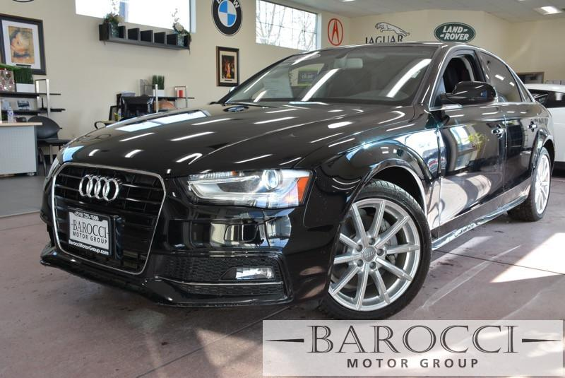 2015 Audi A4 20T Premium 4dr Sedan Automatic CVT Black ABS 4-Wheel Air Conditioning AM FM Ste