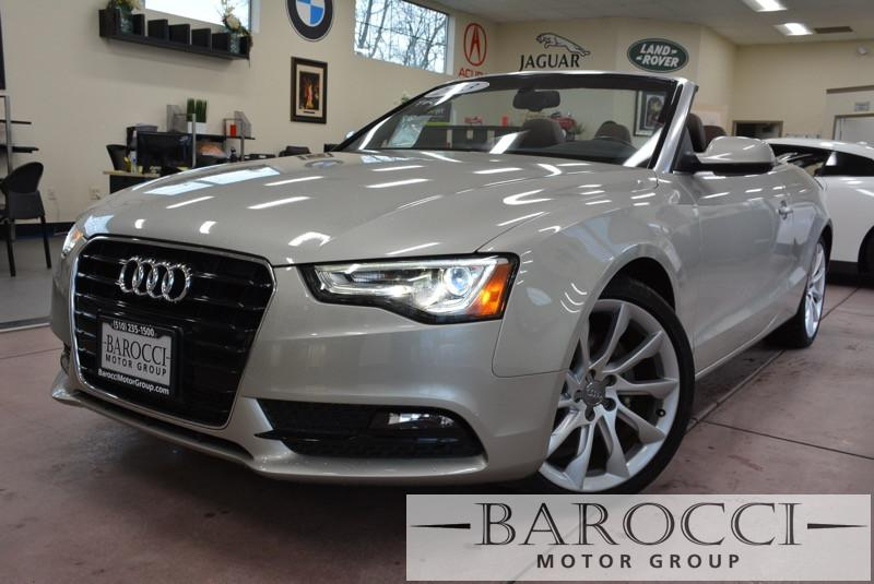 2013 Audi A5 20T Premium Plus 2dr Convertible Continuously Variable Transmission Silver Power D