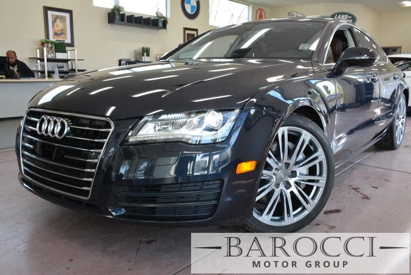 2014 Audi A7 30T quattro Premium AWD  4dr Sedan 8 Speed Auto Blue ABS Air Conditioning Alarm