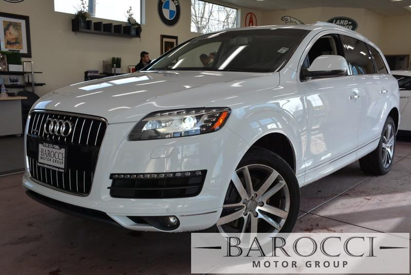 2015 Audi Q7 30T quattro Premium Plus AWD 8 Speed Auto White Child Safety Door Locks Vehicle A