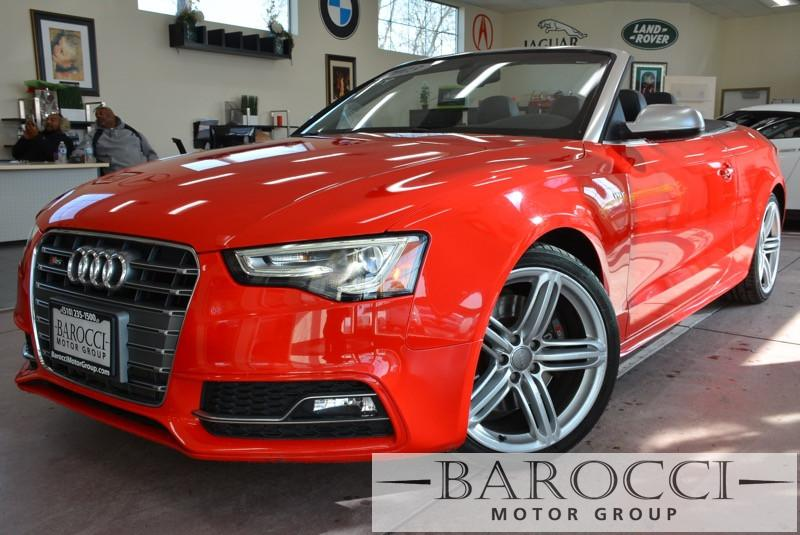 2013 Audi S5 30T quattro Premium AWD  2dr Conve 7 Speed Auto Red ABS Air Conditioning Alarm