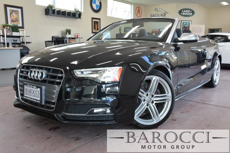 2014 Audi S5 30T quattro Premium AWD  2dr Conve 7 Speed Auto Black ABS Air Conditioning Alarm