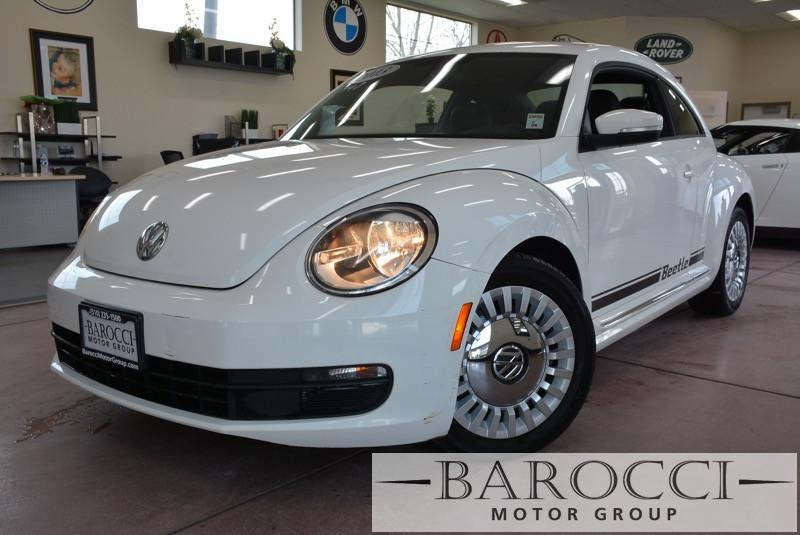 2013 Volkswagen Beetle 25L PZEV 2dr Hatchback 6A 6 Speed Auto White Air Conditioning Alarm Po