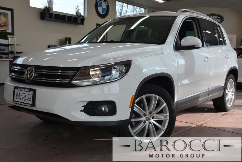 2013 Volkswagen Tiguan SE 4dr SUV ends 113 6 Speed Auto White Child Safety Door Locks Power