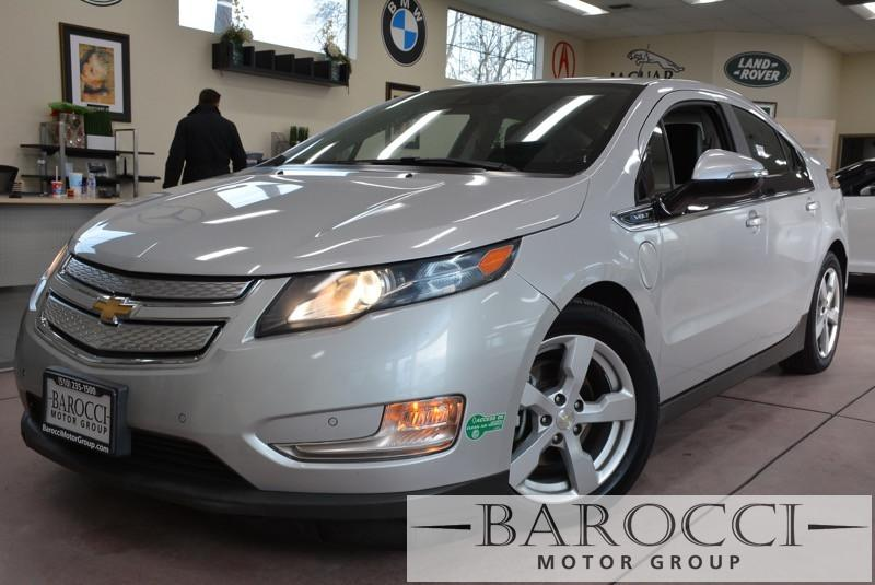 2014 Chevrolet Volt Premium leather Premium 4dr Continuously Variable Transmission Silver Black