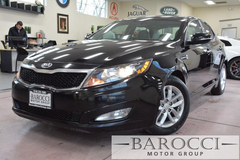 2013 Kia Optima LX Sedan 4D Automatic 6-Speed Black Gray Great car that comes with a fuel effec