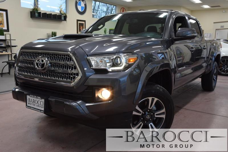 2016 Toyota Tacoma TRD SR5 DoubleCab 5-Speed Automatic Gray Charcoal Beautiful truck has many
