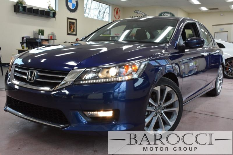 2014 Honda Accord Sport Sedan 4D CVT wOD Blue Charcoal This is a beautiful vehicle in great co