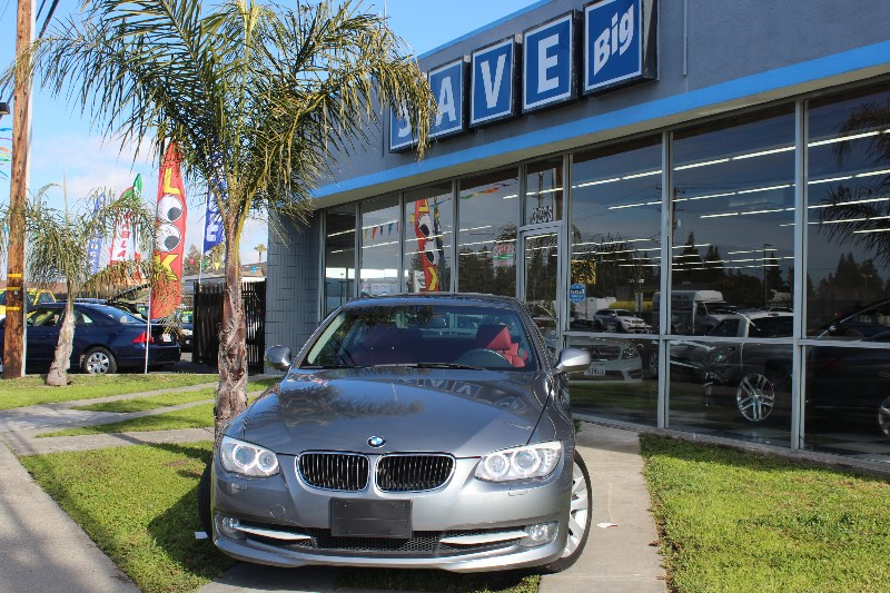 2013 BMW 3 Series 328i 2dr Coupe SPORT PKG Automatic Charcoal Red ABS Air Conditioning Alarm