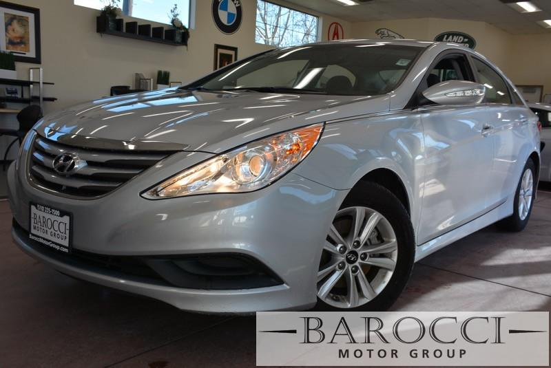 2014 Hyundai Sonata GLS 4dr Sedan 6 Speed Auto Silver Child Safety Door Locks Power Door Locks