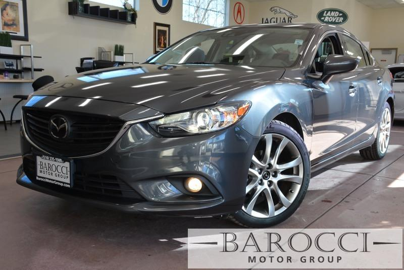 2014 Mazda MAZDA6 i Grand Touring 4dr Sedan 6 Speed Auto Gray ABS Air Conditioning Alarm Allo