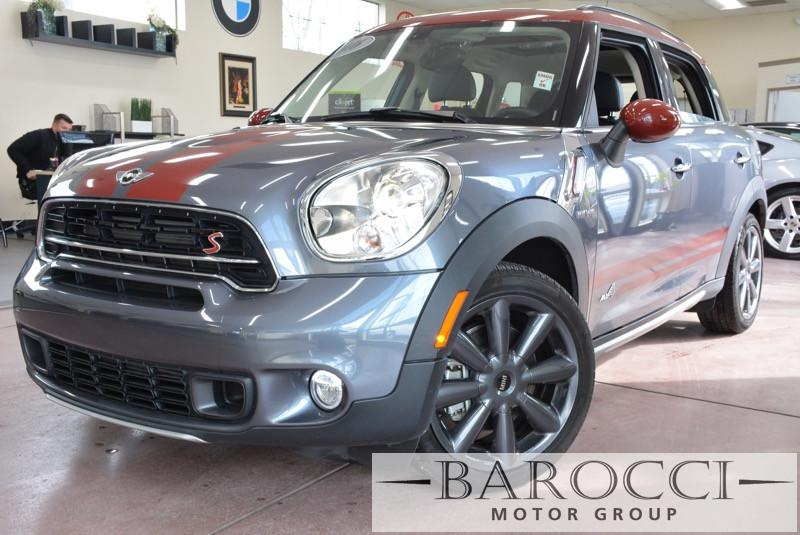 2016 MINI Countryman Cooper S ALL4 AWD  4dr Crossover 6-Speed Automatic  Gray Black Air Conditi