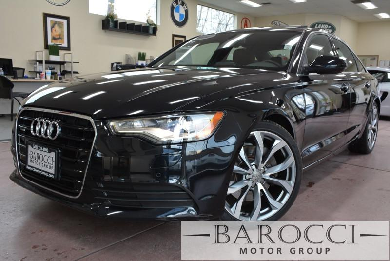 2014 Audi A6 20T quattro Premium Plus AWD 8 Speed Auto Black Brown Now for sale is this good l