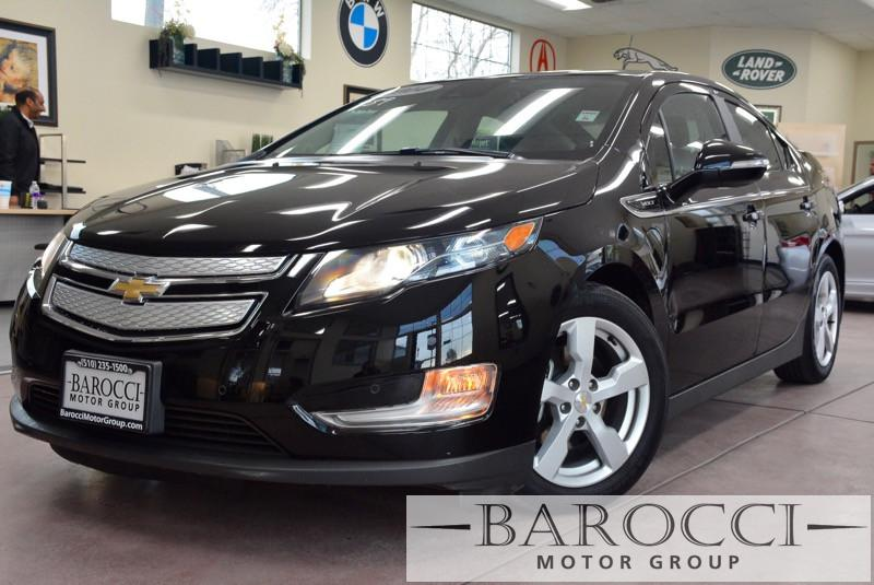 2014 Chevrolet Volt Premium 4dr Hatchback 1 Speed Auto Black ABS Air Conditioning Alarm Alloy