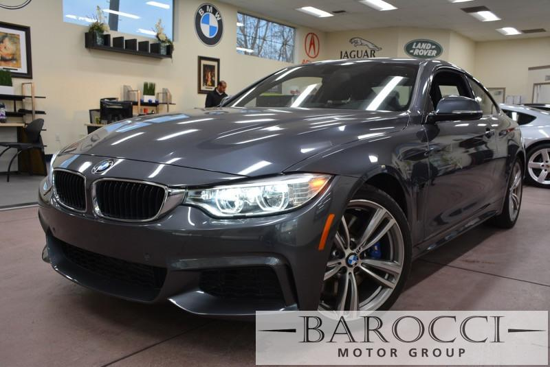 2014 BMW 4 Series 435i 2dr Coupe Automatic Gray Black Heads up displaySide CamerasLoadedLeas