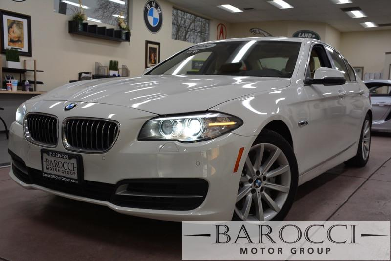 2014 BMW 5 Series 535i 4dr Sedan 8-Speed Automatic White Beige Gorgeous white 535i with many op