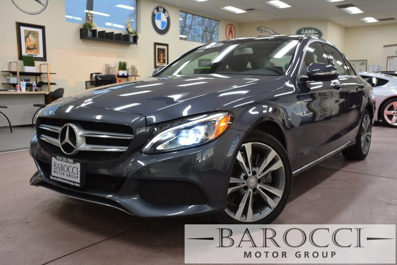 2015 MERCEDES C-Class C300 4MATIC AWD  4dr Sedan 7 Speed Auto Gray Black Beautiful New body sty