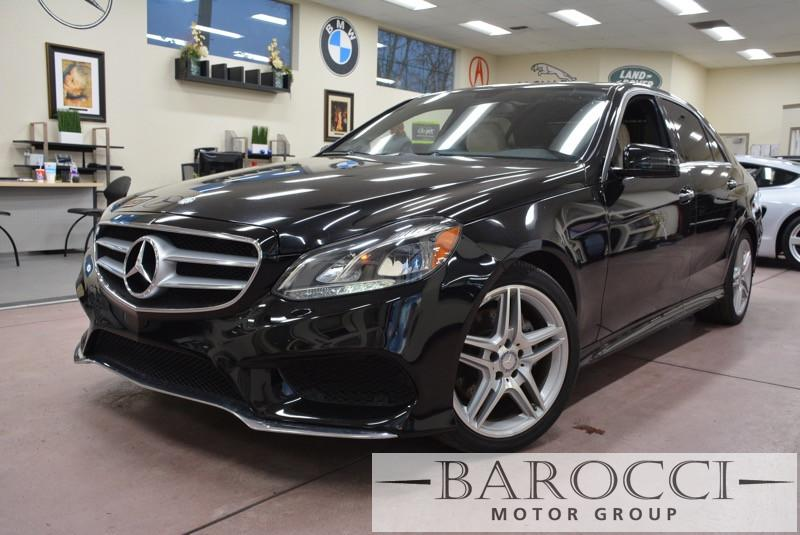2014 MERCEDES E-Class E350 Luxury 4dr Sedan 7 Speed Auto Black Beige AMG WHEELSLike new Tract