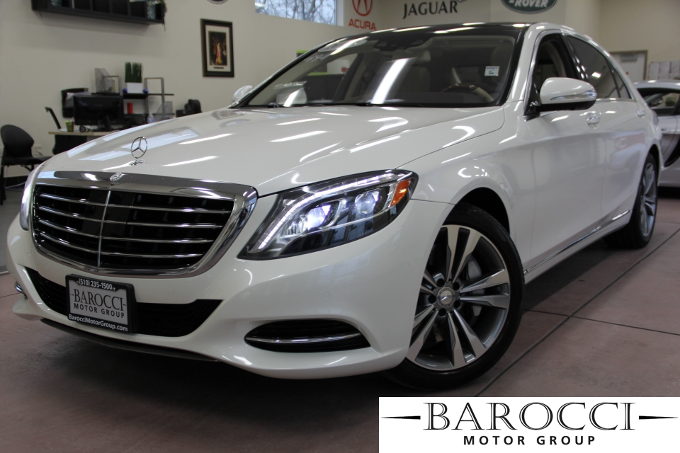 2014 MERCEDES S-Class S550 4dr Sedan 7 Speed Auto White Off White Fascinating S550 Loaded with