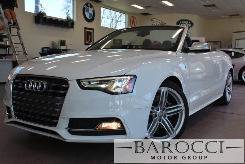 2014 Audi S5 30T quattro Premium AWD  2dr Conve 7 Speed Auto White ABS Air Conditioning Alarm