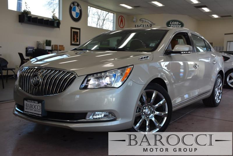 2014 Buick LaCrosse Premium I 4dr Sedan 6 Speed Auto White Brown Lane Assistcollision assistP
