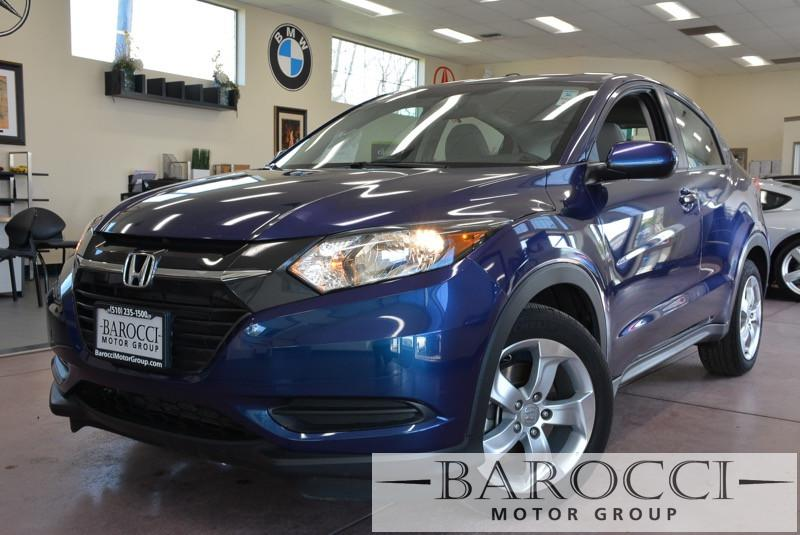 2016 Honda HR-V LX 4dr Crossover CVT Automatic Blue Gray Stock 3517 VIN 3CZRU5H32GM705911