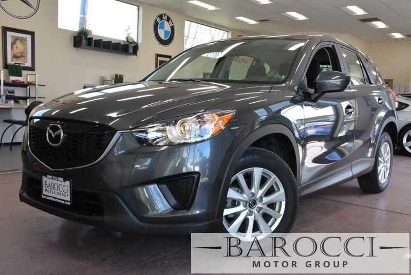 2014 Mazda CX-5 Sport 4dr SUV 6A 6 Speed Auto Gray Power Door Locks Vehicle Anti-Theft ABS Bra