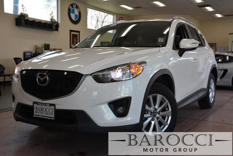 2015 Mazda CX-5 Touring 4dr SUV 6 Speed Auto White Black Child Safety Door Locks Power Door Lo